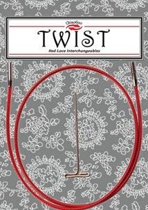chiaogoo câble twist red