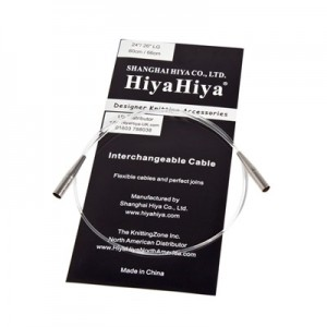 """CABLES """"LARGE"""" POUR AIGUILLES INTERCHANGEABLES HIYAHIYA"""