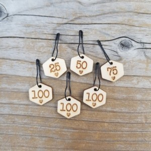 Cast On Counting Numbers Stitch Marker Set