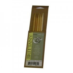 AIGUILLLES DOUBLES POINTES 25CM BRITTANY NEEDLES