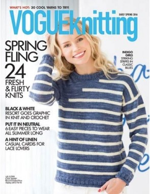 VOGUE KNITTING PRE PRINTEMPS 2016
