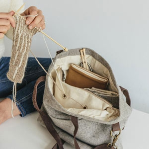 sac à tricot Twig & Horn