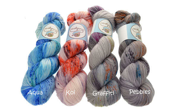 Colorful Hand Dyed Yarn